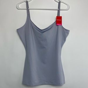 SPANX Plus Size Cami in Cloud Gray